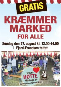 gratis Kræmmermarked søndag